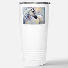 Heavenly Horse art by Janet Fer Travel Mug