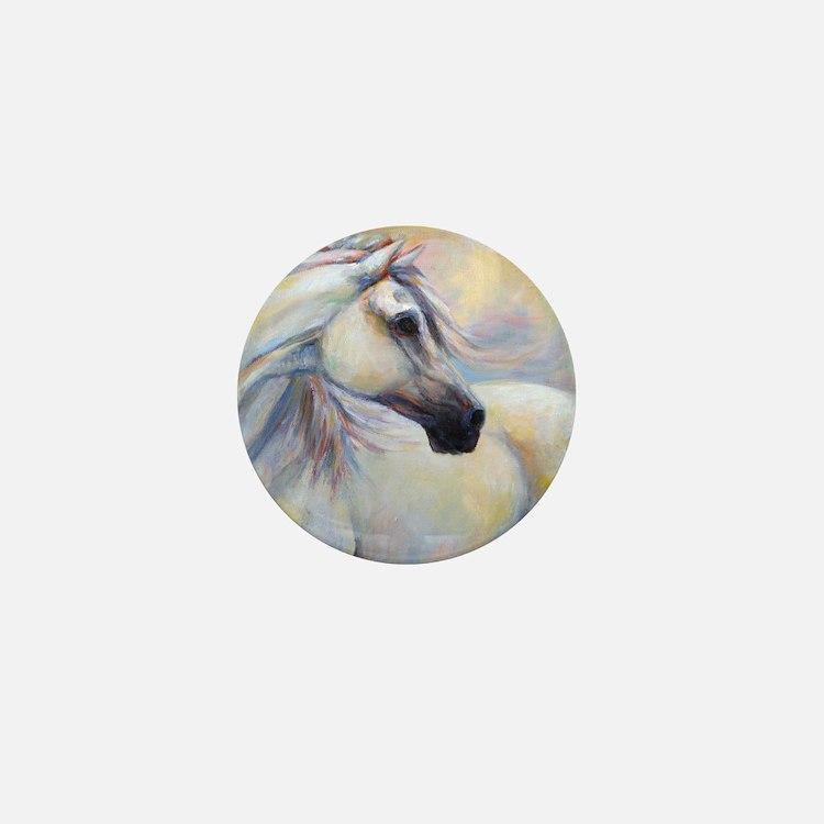 Heavenly Horse art by Janet Ferraro. C Mini Button