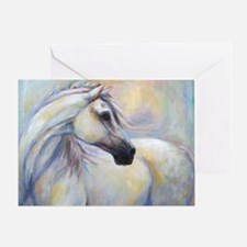 Heavenly Horse art by Janet Ferraro. Greeting Card