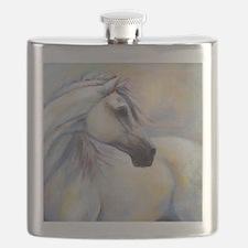 Heavenly Horse art by Janet Ferraro. Copyrig Flask