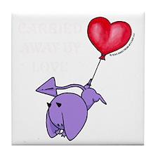 cp_devil_balloon_w stmt_bk Tile Coaster