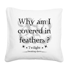 breaking dawn14 Square Canvas Pillow