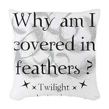 breaking dawn14 Woven Throw Pillow
