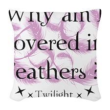 breaking dawn15 Woven Throw Pillow