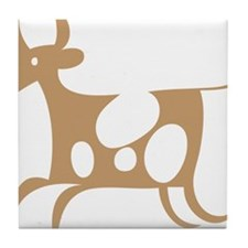 cow cheese Tile Coaster