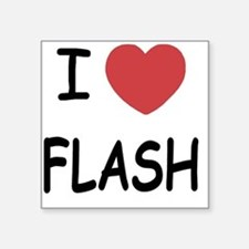 "FLASH Square Sticker 3"" x 3"""