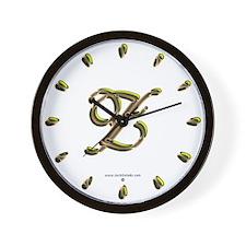 Phyllis Initial Z Wall Clock