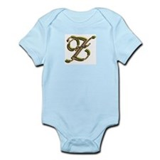 Phyllis Initial Z Infant Creeper
