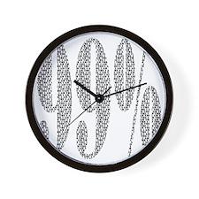 ninetynine Wall Clock