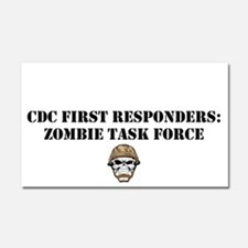 Cdc First Responders Zombie Car Magnet 20 X 12