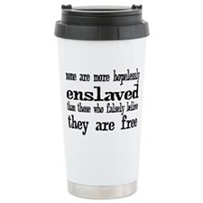 enslaved Travel Mug