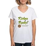 Kirtan Women's V-Neck T-Shirt