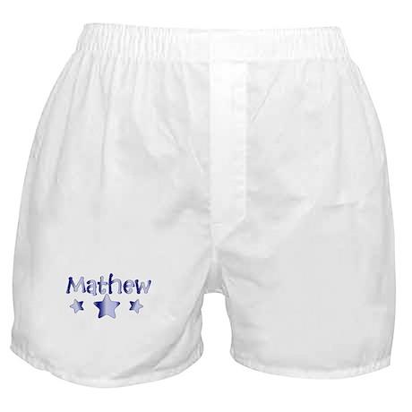Personalized Mathew Boxer Shorts