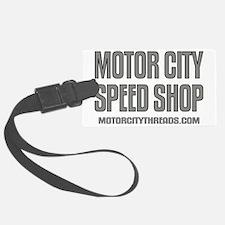 mch speed shop clear2 FRT Luggage Tag