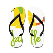 Janelle-loves-puppies Flip Flops