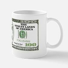 Sarcastic 100 dollars bill Mug