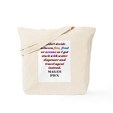 Mage Decide Tote Bag