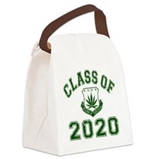 CO2020 SOHK Weed Green Distressed Canvas Lunch Bag