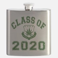 CO2020 SOHK Weed Green Distressed Flask