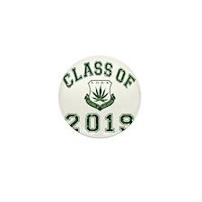 CO2019 SOHK Weed Green Distressed Mini Button