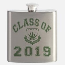 CO2019 SOHK Weed Green Distressed Flask