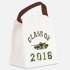 CO2018 Tank Camo Canvas Lunch Bag