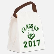 CO2017 SOHK Weed Green Distressed Canvas Lunch Bag