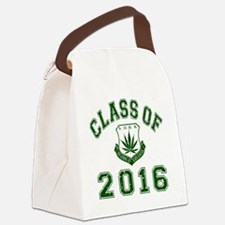 CO2016 SOHK Weed Green Distressed Canvas Lunch Bag