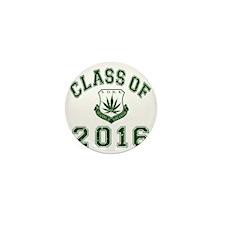 CO2016 SOHK Weed Green Distressed Mini Button