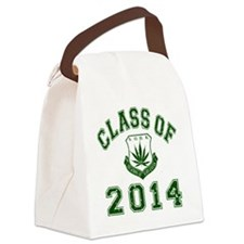 CO2014 SOHK Weed Green Distressed Canvas Lunch Bag