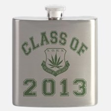 CO2013 SOHK Weed Green Distressed Flask