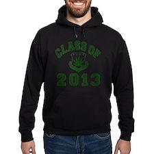 CO2013 SOHK Weed Green Distressed Hoodie