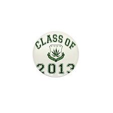 CO2013 SOHK Weed Green Distressed Mini Button