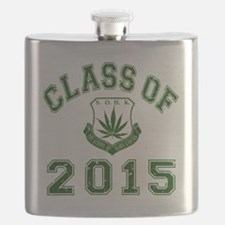 CO2015 SOHK Weed Green Distressed Flask
