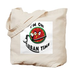 Cuban Time Tote Bag