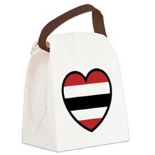 Hawk Heart Solo Canvas Lunch Bag