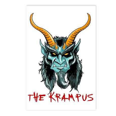 Krampus Portrait Postcards (Package of 8)