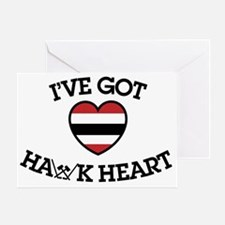 Ive Got Hawk Heart Greeting Card