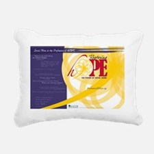 HopePosterNoLocation Rectangular Canvas Pillow