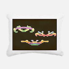 demon attack hartter Rectangular Canvas Pillow