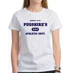 Property of my Pugshire Women's T-Shirt
