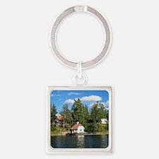 Siaro-sq Square Keychain