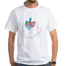 dreidel with color spots for blac Shirt