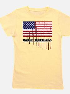 gotdebt_american_flagchart Girl's Tee