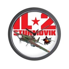 il2_shirt_front_new Wall Clock