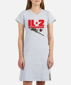 il2_shirt_front_new Women's Nightshirt