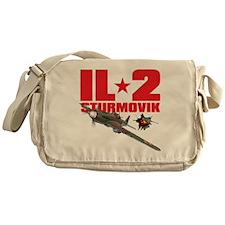 il2_shirt_front_new Messenger Bag