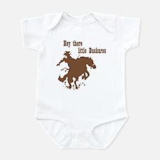 Retro Buckaroo Cowboy Western Infant Bodysuit
