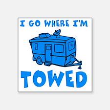 """towedtrailersmalls Square Sticker 3"""" x 3"""""""