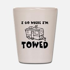 towedtrailer Shot Glass